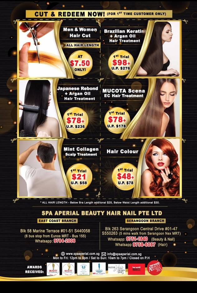 hair promotion 2018